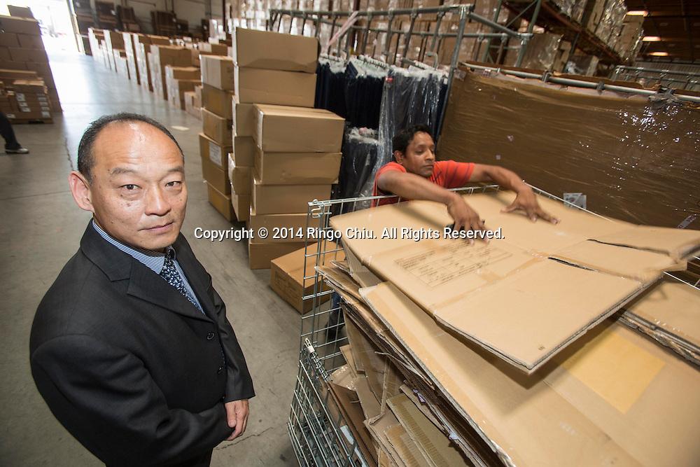 Wane Ru, CEO of 8Net Inc. (Photo by Ringo Chiu/PHOTOFORMULA.com)