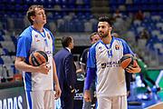 DESCRIZIONE : Eurolega Euroleague 2015/16 Group D Unicaja Malaga - Dinamo Banco di Sardegna Sassari<br /> GIOCATORE : Denis Marconato Brian Sacchetti<br /> CATEGORIA : Fair Play Before Pregame<br /> SQUADRA : Dinamo Banco di Sardegna Sassari<br /> EVENTO : Eurolega Euroleague 2015/2016<br /> GARA : Unicaja Malaga - Dinamo Banco di Sardegna Sassari<br /> DATA : 06/11/2015<br /> SPORT : Pallacanestro <br /> AUTORE : Agenzia Ciamillo-Castoria/L.Canu