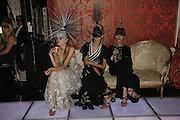 Tetyana Piskum, Anna Ilnytska and Mafa Mazur, The Moet and Chandon Fashion Tribute 2006 Honouring British Photographer Nick Knight. Strawberry Hill House. Twickenham. 24 October 2006. -DO NOT ARCHIVE-© Copyright Photograph by Dafydd Jones 66 Stockwell Park Rd. London SW9 0DA Tel 020 7733 0108 www.dafjones.com
