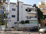Bauhaus Architecture at 60 Shalom Aleichem street, Tel Aviv White City. The White City refers to a collection of over 4,000 buildings built in the Bauhaus or International Style in Tel Aviv from the 1930s by German Jewish architects who emigrated to the British Mandate of Palestine after the rise of the Nazis. Tel Aviv has the largest number of buildings in the Bauhaus/International Style of any city in the world. Preservation, documentation, and exhibitions have brought attention to Tel Aviv's collection of 1930s architecture.