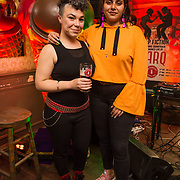 Jess Kavanagh and Tara Stewart at the launch of Smithwick's Soundtrack Series, aspecial series of live performances that showcases two of Ireland's best live music acts, BARQ and Le Galaxie,as they celebrate their favourite movie soundtracks, Pulp Fiction and Apocalypse Now.Smithwick's Soundtrack Series will be taking place in some of Ireland's favourite music venues across Dublin, Cork, Belfast, Limerick and Sligo from October 2017.Tickets are priced at €15.00, which includes booking fee, and a complimentary pint of Smithwick's (Smithwick's Blonde, Pale or Red Ale). Visit www.smithwicks.eventbrite.ie <br />  - Photography by Ruth Medjber