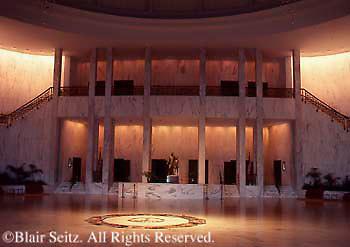 Hershey, PA, Milton Hershey School, Founder's Hall Interior Plaza