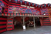 Parque de Bombas museum in Ponce, Puerto Rico