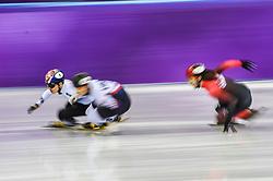 February 17, 2018 - Pyeongchang, Gangwon, South Korea - Seo Yira of South Korea competing  at Gangneung Ice Arena, Gangneung, South Korea on 17 February 2018. (Credit Image: © Ulrik Pedersen/NurPhoto via ZUMA Press)