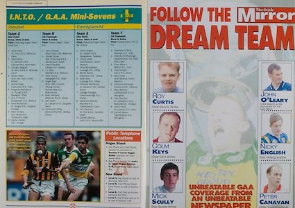 All Ireland Senior Hurling Championship - Final, .13.09.1998, 09.13.1998, 13th September 1998, .13091998AISHCF,.Senior Kilkenny v Offaly, .Minor Kilkenny v Cork,.Offaly 2-16, Kilkenny 1-13,.The Mirror, .MIchael Duignan and Kevin Martin, Offaly, Brian McEvoy, Kilkenny,