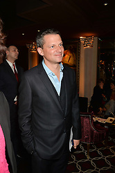 Left, GEORGE DUFFIELD at the Pig Pledge Evening at Club no41, 41 Conduit Street, London on 10th March 2014.