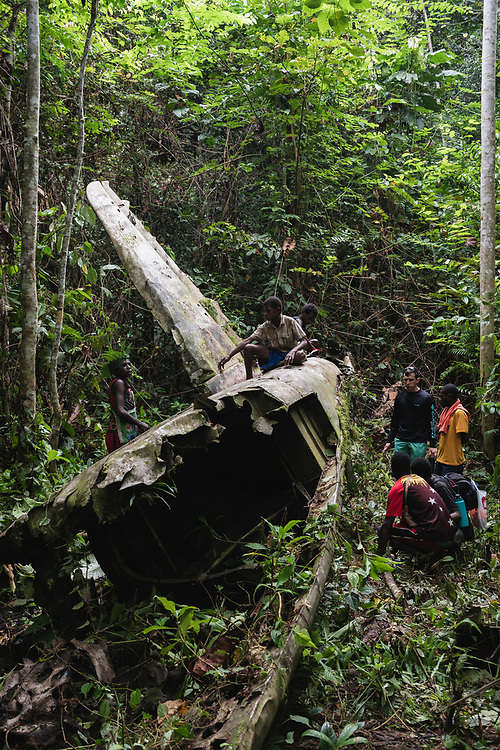On April 5, 1944, on the return from an attack on Japanese forces in Hollandia, the A-20 Havoc piloted by 2nd Lt. Thomas E. Freeman crashed into the jungle near the Clay River in what is now Papua New Guinea. The remains of the crew -- also on board was the gunner, Cpl. Ralph A. McKendrick -- were recovered in 1967.<br /><br />(June 21, 2019)