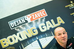 Dejan Zavec during press conference of Boxing Gala events, on February 21, 2017 in Hotel Union, Ljubljana, Slovenia. Photo by Vid Ponikvar / Sportida