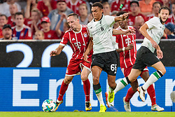 01.08.2017, Allianz Arena, Muenchen, GER, Audi Cup, FC Bayern Muenchen vs FC Liverpool, im Bild Franck Ribery (FC Bayern Muenchen), Trent Alexander-Arnold (FC Liverpool) // during the Audi Cup Match between FC Bayern Munich and FC Liverpool at the Allianz Arena, Munich, Germany on 2017/08/01. EXPA Pictures © 2017, PhotoCredit: EXPA/ JFK
