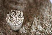 Salinas_MG, Brasil. ..Mercado Popular de Salinas, regiao norte de Minas Gerais. Na foto saca de sementes...The Mercado Popular (Popular Market) of Salinas, the north region in Minas Gerais. In this photo some seeds...Foto: LEO DRUMOND / NITRO