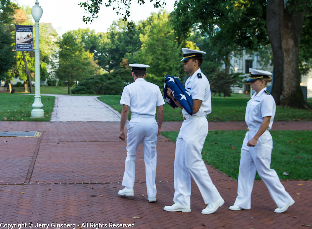 United States Naval Academy in historic Annapolis, MD.