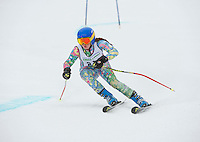 Francis Piche Invitational giant slalom on Cannonball Saturday, March 14, 2015.  Karen Bobotas Photographer