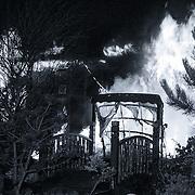 NLD/Hilversum/19881124 - Brand in Chinees restaurant Boeddha Soestdijkerstraatweg Hilversum waarbij 3 dodelijk slachtoffers vallen