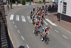 Stephanie Pohl leads the front group at Boels Hills Classic 2016. A 131km road race from Sittard to Berg en Terblijt, Netherlands on 27th May 2016.
