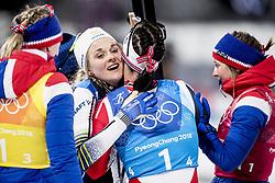 February 17, 2018 - Pyeongchang, Sydkorea - Stina Nilsson - Sweden..Women's Cross Country skiing 4x5km Relay, PyeongChang 2018 Olympic Games, 2018-02-17..(c) ORRE PONTUS  / Aftonbladet / IBL BildbyrÃ¥....* * * EXPRESSEN OUT * * *....AFTONBLADET / 85527 (Credit Image: © Orre Pontus/Aftonbladet/IBL via ZUMA Wire)