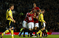 Manchester United v Liverpool Premier League 20/09/04<br />