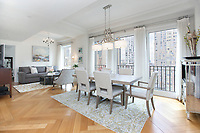 Dining Area at 160 Central Park South