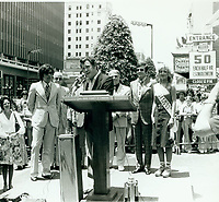 1977 Earl Holliman's Walk of Fame ceremony