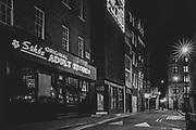 Original Soho's Adult Store London Soho  district during the Pandemic of Coronavirus April 23.  2020.<br /> Copyright Ki Price