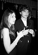 Sophia Coppola & James Truman at the Vanity Fair Oscar Night Party Mortons,  Los Angeles. 25 March 1996<br />ONE TIME USE ONLY - DO NOT ARCHIVE  © Copyright Photograph by Dafydd Jones 66 Stockwell Park Rd. London SW9 0DA Tel 020 7733 0108 www.dafjones.com