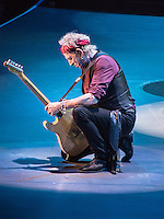 Kieth Richards at the Rolling Stones 50th Anniversary Show December 2012.