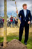 Koning bij viering 100 jaar Wageningen University & Research