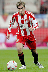 29.10.2010, Allianz Arena, Muenchen, GER, 1.FBL, FC Bayern Muenchen vs SC Freiburg, im Bild Philipp Lahm (Bayern #21)  , EXPA Pictures © 2010, PhotoCredit: EXPA/ nph/  Straubmeier+++++ ATTENTION - OUT OF GER +++++