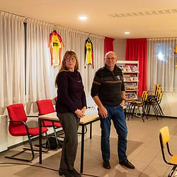 AWV de Zwaluwen jaarvergadering <br />Gerrit Aufderhaar en Carina Schouten doen bestuurlijk een stapje terug