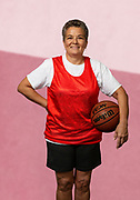 BABY BOOMER WOMAN BASKETBALL PLAYER AFRICAN AMERICAN