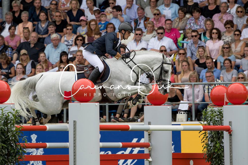 Philippaerts Olivier, (BEL), Cabrio vd Heffinck<br /> Rolex Grand Prix<br /> CHIO Aachen 2016<br /> © Hippo Foto - Dirk Caremans<br /> 17/07/16