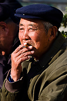 Elderly Chinese men, Jinshan Park, Zhenjiang, China