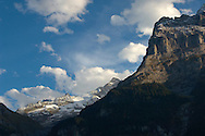 The Eiger at sunset with clouds - Grinderalwd - Alps Switzerland .<br /> <br /> Visit our SWITZERLAND  & ALPS PHOTO COLLECTIONS for more  photos  to browse of  download or buy as prints https://funkystock.photoshelter.com/gallery-collection/Pictures-Images-of-Switzerland-Photos-of-Swiss-Alps-Landmark-Sites/C0000DPgRJMSrQ3U