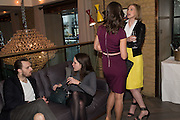 ADAM GUEST; RACHAEL JEVONS; PIPPA MIDDLETON; ELIZABETH PELLY, Spectator Life - 3rd birthday party. Belgraves Hotel, 20 Chesham Place, London, SW1X 8HQ, 31 March 2015