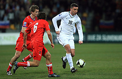 Anton Zlogar at the 8th day qualification game of 2010 FIFA WORLD CUP SOUTH AFRICA in Group 3 between Slovenia and Czech Republic at Stadion Ljudski vrt, on March 28, 2008, in Maribor, Slovenia. Slovenia vs Czech Republic 0 : 0. (Photo by Vid Ponikvar / Sportida)