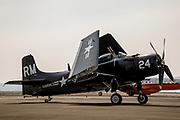 AD-4W Skyraider of Erickson Aircraft Collection.