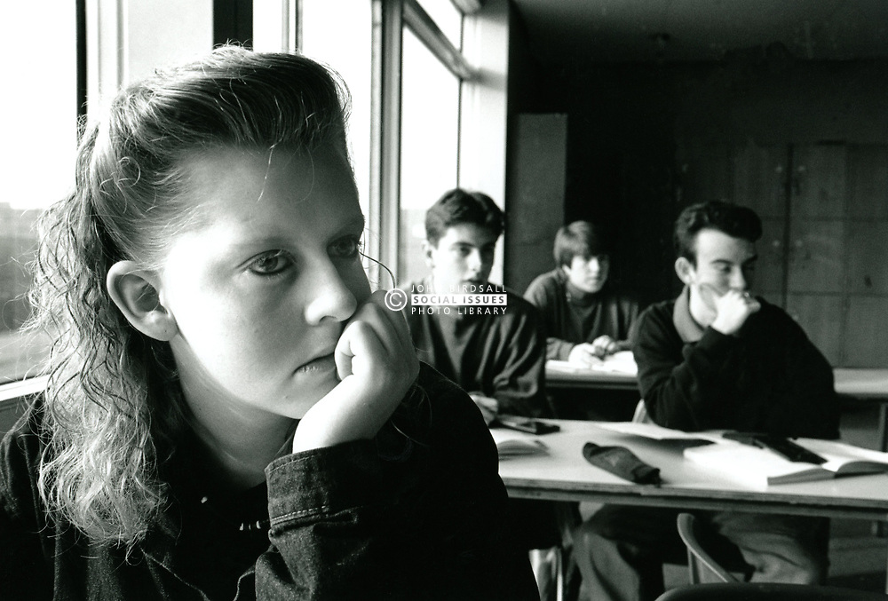 Frank Wheldon Secondary school, Carlton, Nottingham, UK 1992. Now the Carlton Academy