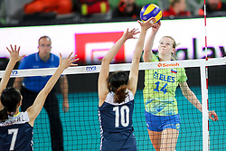 Lana Scuka of Slovenia during the volleyball match between National team of Slovenia and China in Preliminary Round of Womens U23 World Championship 2017, on September 12, 2017 in SRC Stozice, Ljubljana, Slovenia. Photo by Morgan Kristan / Sportida