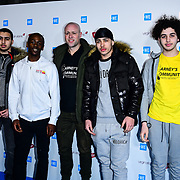 Carney's Community Arrives at 2020 WE Day UK at Wembley Arena, London, Uk 4 March 2020.