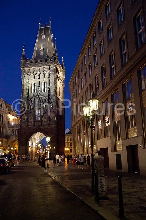 Old town night time shots; Prague, Czech Republic.