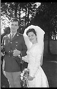 08/02/1964<br /> 02/08/1964<br /> 08 February 1964<br /> Wedding of Lieutenant Gerard Wright of McKee Barracks Dublin, son of Mr and Mrs Michael Wright of Tipperary and Miss Maeve Edge, daughter of Mr and Mrs Robert Edge, 29 Hillsbrook Grove, Whitehall Road, Terenure, Dublin at the Church of St. Agnes, Crumlin.