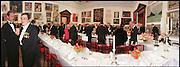 Nicholas Serota & Norman Rosenthall. Royal Academy Annual dinner 1998. Royal Academy, Piccadilly, London W1. 27/5/98. <br /> © Copyright Photograph by Dafydd Jones<br /> 66 Stockwell Park Rd. London SW9 0DA<br /> Tel 0171 733 0108