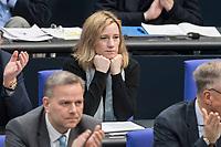 14 FEB 2019, BERLIN/GERMANY:<br /> Verena Hartmann, MdB, AfD, Bundestagsdebatte, Plenum, Deutscher Bundestag<br /> IMAGE: 20190214-01-037<br /> KEYWORDS: Bundestag, Debatte