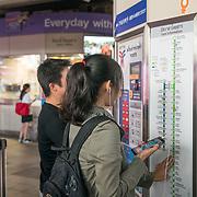 NLD/Bangkok/20180713 - Vakantie Thailand 2018, openbaar vervoer op een BTS station