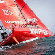 © Maria Muina I MAPFRE.  Leg 9 start from Newport to Cardiff. Salida de la etapa 9 de Newport a Cardiff.