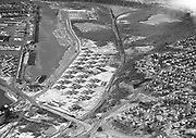 Ackroyd 01216-2. Mock's Bottom & Swan Island. Aerials. January 12, 1949.