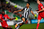 Plymouth Argyle's Jake Jervis during the Sky Bet League 2 match between Plymouth Argyle and York City at Home Park, Plymouth, England on 28 March 2016. Photo by Graham Hunt.