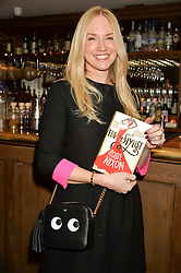 ROSIE NIXON at a party to celebrate the publication of The Stylist by Rosie Nixon held at Soho House, London on 10th February 2016.