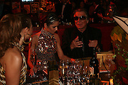 KIMBERLEY WALSH, CHERYL COLE AND ROBERT CAVALLI, The Red Cross London Ball, The Room by the River: 99 Upper Ground, Waterloo, London, SE1. 21 November 2007. -DO NOT ARCHIVE-© Copyright Photograph by Dafydd Jones. 248 Clapham Rd. London SW9 0PZ. Tel 0207 820 0771. www.dafjones.com.