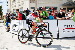 Jan POLANC of UAE TEAM EMIRATES during the 4th Stage of 27th Tour of Slovenia 2021 cycling race between Ajdovscina and Nova Gorica (164,1 km), on June 12, 2021 in Ajdovscina - Nova Gorica, Ajdovscina - Nova Gorica, Slovenia. Photo by Vid Ponikvar / Sportida