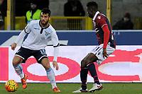 Felipe Anderson Lazio, Amadou Diawara Bologna <br /> Bologna 17-01-2016 Stadio Dall'Ara Football Calcio Serie A 2015/2016 Bologna - Lazio Foto Insidefoto